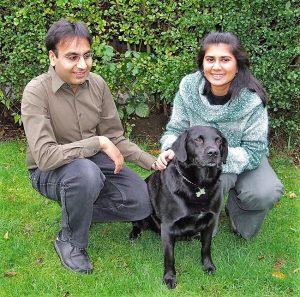 Photo of Mahersh & Nishma with Shambhu